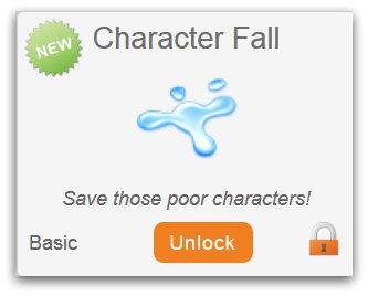 character fall
