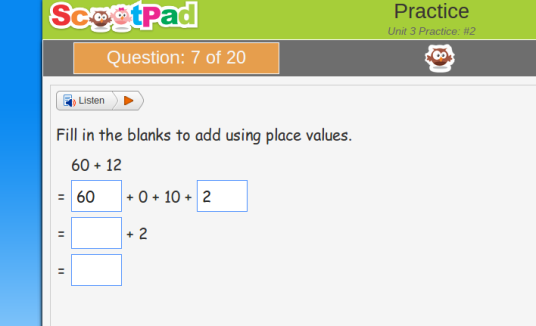 Applying place value skills is not as simple as it looks.