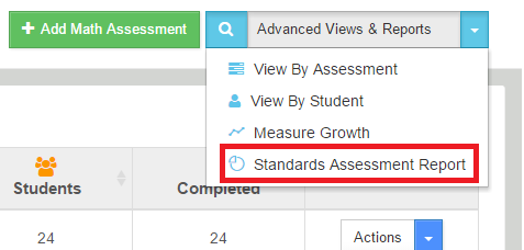 assessment - advanced report