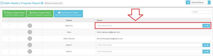 emailparentreport
