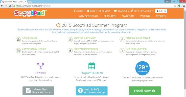 Summer-enroll