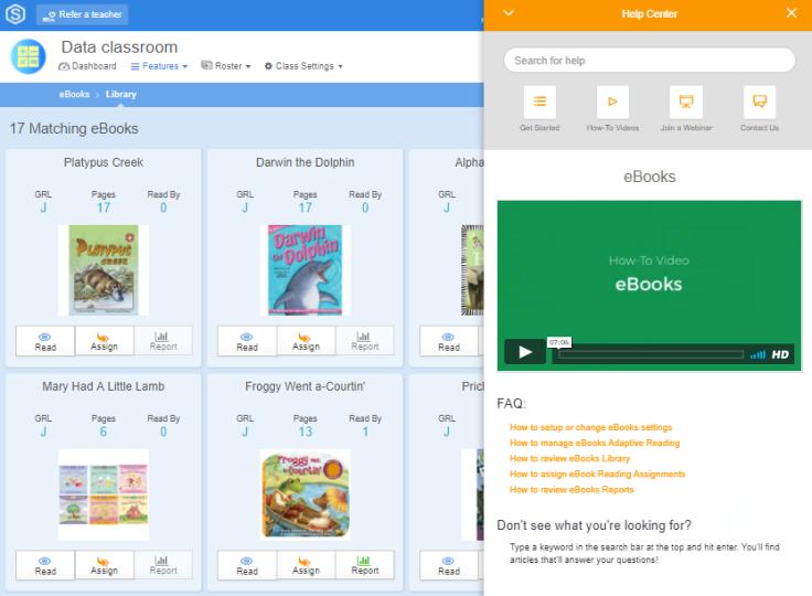 ebooks help